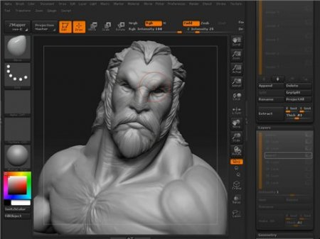 Gnomonology - ZBrush: Manimal 3D Sculpting Session (2008)